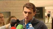 """Rivera dice que tiene sensación de que """"algo va a cambiar"""" en España"""