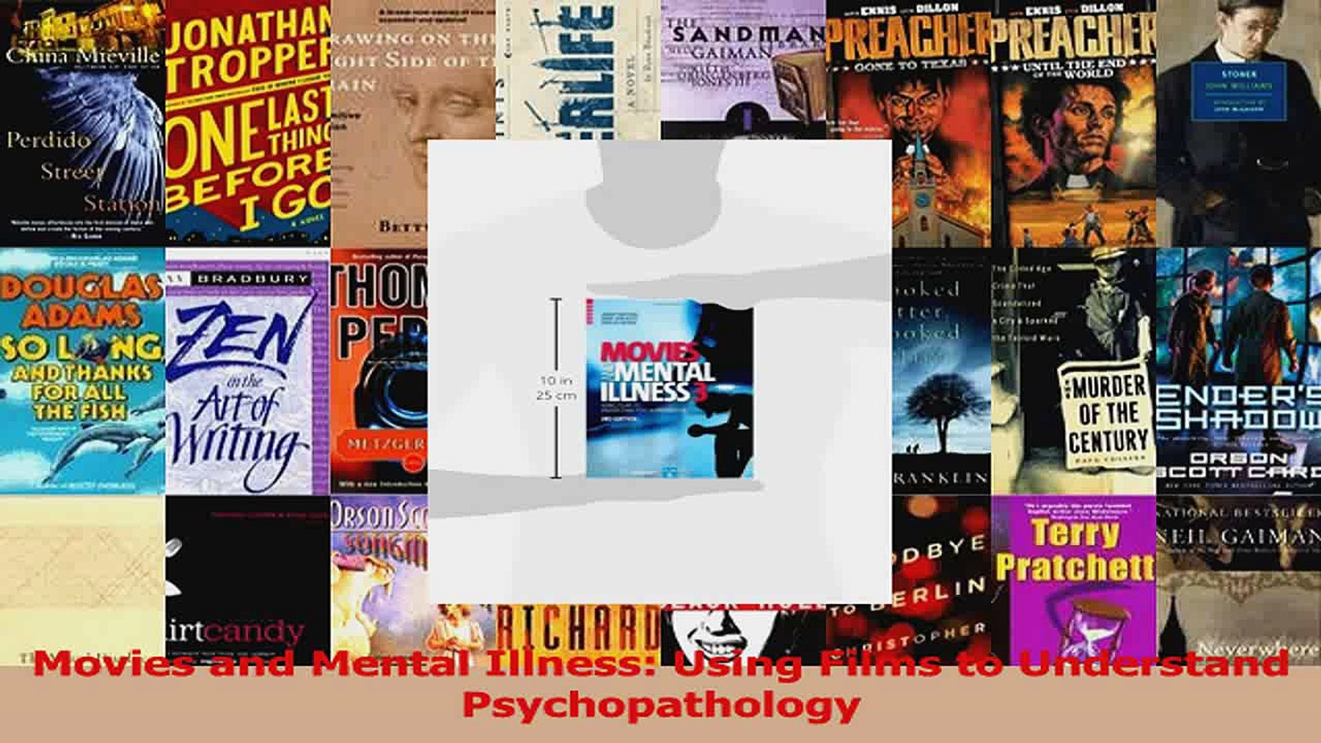 PDF Download  Movies and Mental Illness Using Films to Understand Psychopathology Download Full Eboo