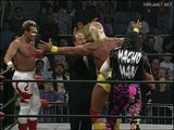 Sting, Hulk Hogan, Randy Savage @ WCW Monday Nitro Ending 12.11.1995