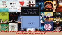 Download  Jesus and the Victory of God Christian Origins and the Question of God Volume 2 PDF Free