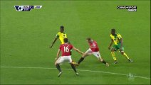 Alexander Tettey Goal - Manchester United 0-2 Norwich - 19-12-2015