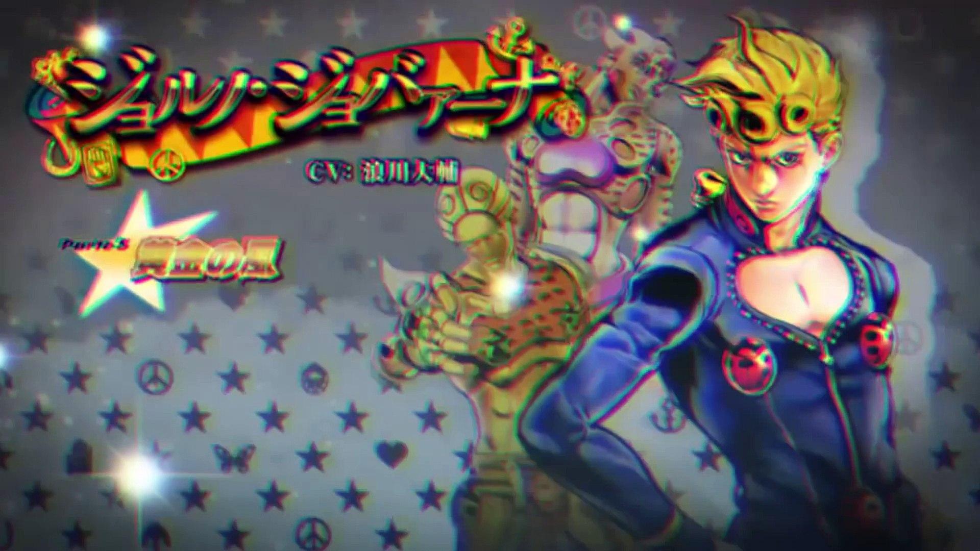 Jojo S Bizarre Adventure Eyes Of Heaven Giorno Giovanni Gameplay Video Dailymotion