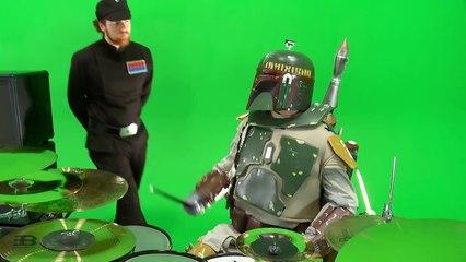 L'Empire reprend le thème de Star Wars version métal