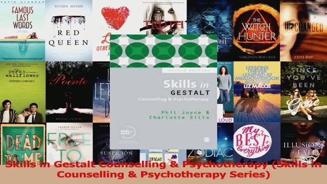PDF Download  Skills in Gestalt Counselling  Psychotherapy Skills in Counselling  Psychotherapy Read Online