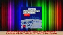 Download  Automobildesign und Technik Formgebung Funktionalität Technik ATZMTZFachbuch PDF Frei