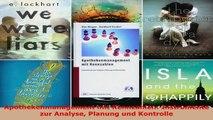 Lesen  Apothekenmanagement mit Kennzahlen Instrumente zur Analyse Planung und Kontrolle Ebook Frei