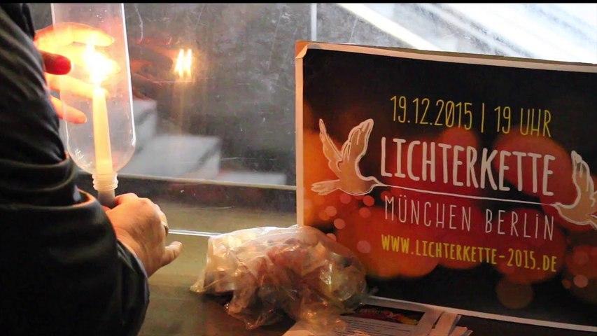 Lichterkette 2015 München - Berlin