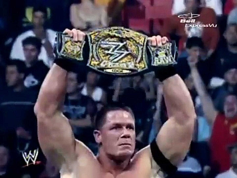 Edge With Lita VS Triple H VS John Cena (Backlash 2006) (30 April 2006) (WWE Title Match)