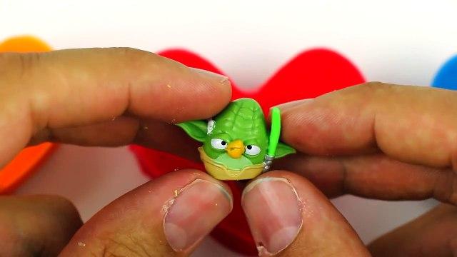 frozen Peppa Pig Play Doh Surprise Eggs Angry Birds Frozen Disney Shopkins Egg shopkins
