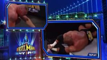 Triple H VS Brock Lesnar No Holes Barred Wrestlemania 29