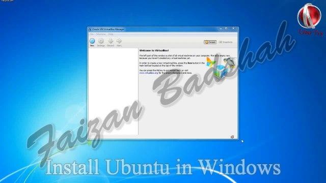 Install & Run Ubuntu in Windows