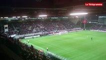 EAG-Stade Rennais. Ambiance d'avant match