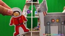 Despicable Me Minions Frozen Fart Gun Spaceship Toys - Monkey Astronaut Space Tank UFO & Alien Robot