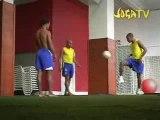 Ronaldinho- Robinho- Roberto Carlos