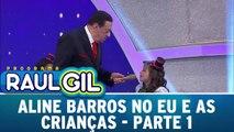Aline Barros no Eu E As Crianças - 19.12.15 - Parte 1