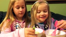 kellogg Kelloggs FROZEN Disney cereal REVIEW FAIL by the LITTLE GRIMMETTES