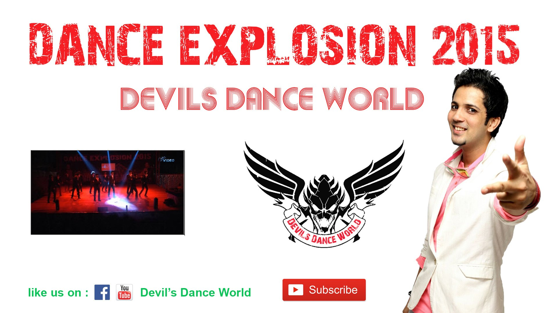 Hip Hop Dance Videos | Amazing Dance by Ranjit Sir | Dance Explosion 2015 | Devil's Dance World