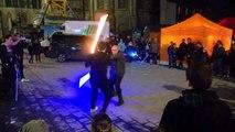 Combats sabre laser