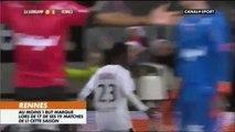 19/12/15 : EAG-SRFC : joueurs et supporters du Stade Rennais