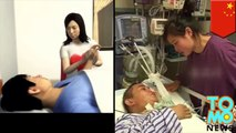 Real life true love: Wife sells wedding ring to pay for husband's medical care - TomoNews
