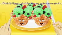 Ice Cream With Waffle Cone Fruits Finger Family Song Daddy Finger Nursery Rhymes Currant S