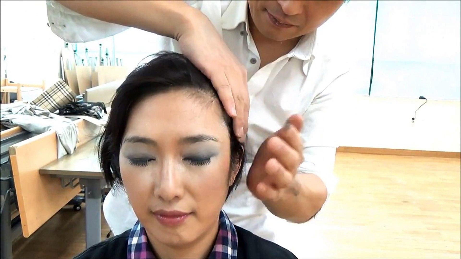 Face MakeUp & ASMR Head Massage