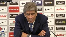 Manuel Pellegrini post match press conference Manchester City vs Chelsea 3 : 0