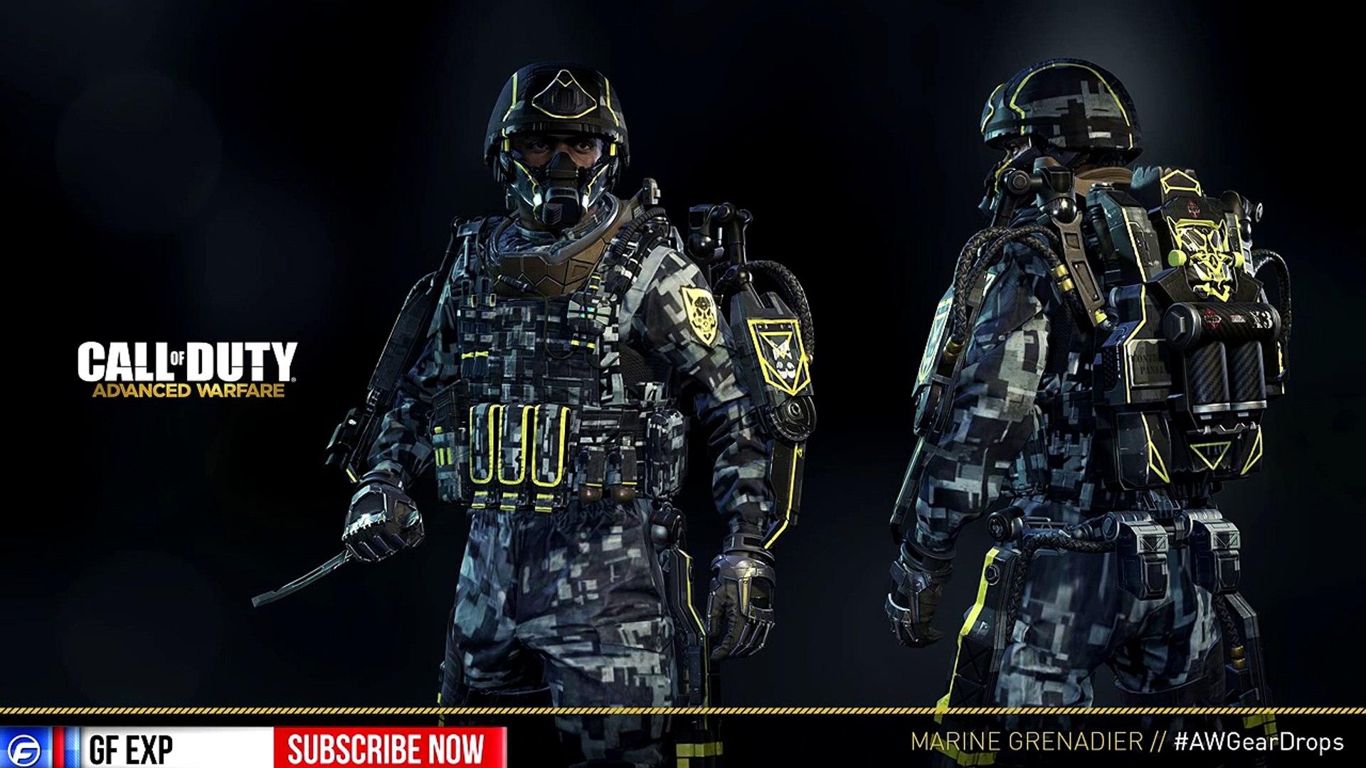 Cod News Get Your Free Rare Exo New Dlc Marine Grenadier Gear Set Awgeardrops Video Dailymotion