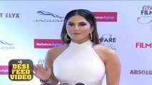 Sexy Sunny Leone at Filmfare Glamour and Style Awards 2015 Full Show Red Carpet