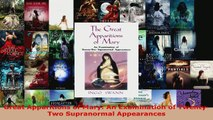 PDF Download  Great Apparitions of Mary An Examination of TwentyTwo Supranormal Appearances PDF Full Ebook