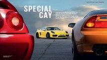 Porsche Cayman GT4 versus Honda NSX and Ferrari 355 - comparison