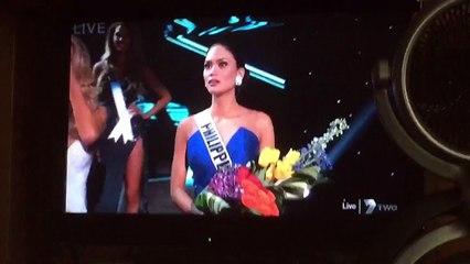 Miss Philippine apprend qu'elle a finalement remporté Miss Univers 2015
