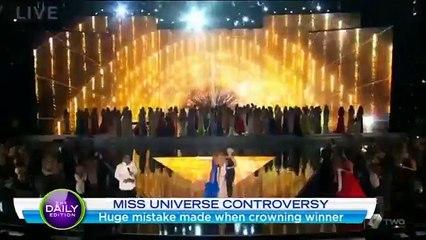 Miss France 2015 : Le présentateur se trompe de gagnante