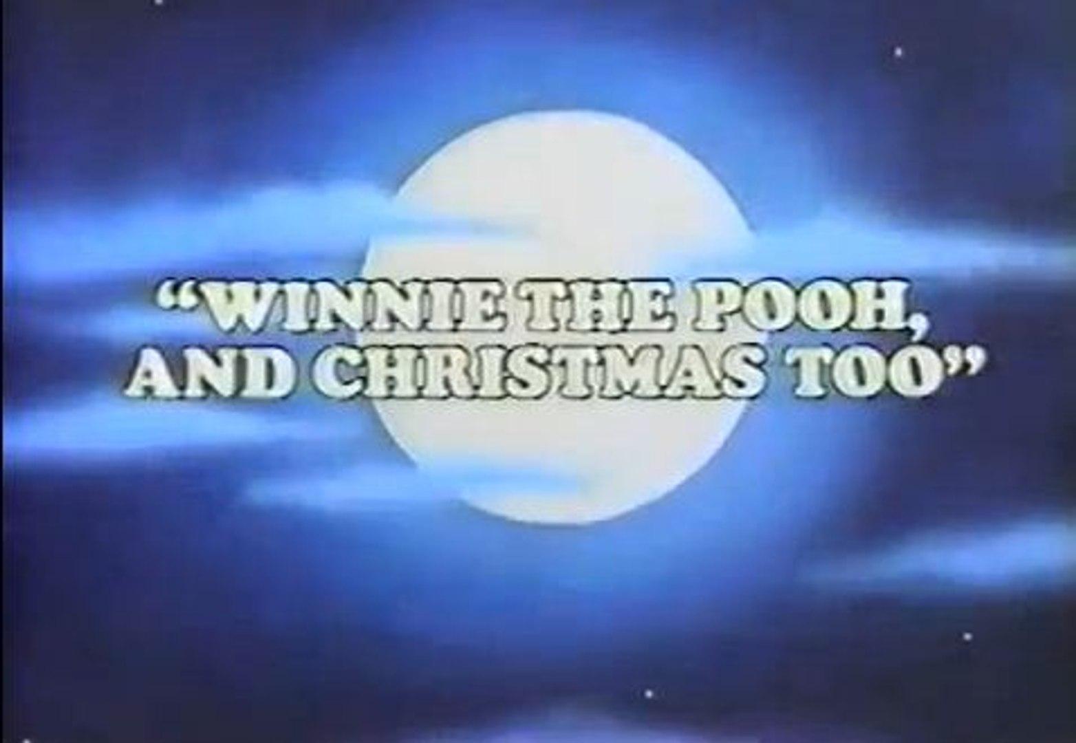 Winnie The Pooh And Christmas Too.Winnie The Pooh And Christmas Too 1991