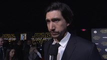 Star Wars: The Force Awakens Premiere: Adam Driver