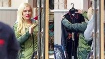 Gwen Stefani fait du shopping pour Noël dans un magasin country