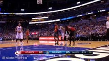 Channing Frye's Shaqtin' A Fool Moment  Hawks vs Magic  December 20, 2015  NBA 2015-16 Season