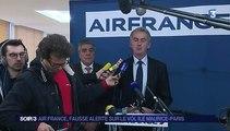 Vol dérouté d'Air France : une bombe factice découverte dans les toilettes