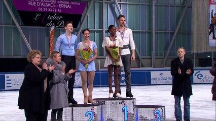 Championnat de France Synerglace Elite 2015 - Les Podiums