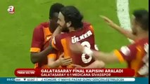 30.04.2015 - 2014-2015 Turkish Cup Semi Final 1st Leg Galatasaray 4-1 Medicana Sivasspor