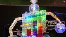 Les jouets de Noël 2015 repérés à Kidexpo : les briques lumineuses -Laser Pegs-