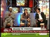 3.Dr. Zakir Naik, Shahrukh Khan, Soha Ali Khan on NDTV with Barkha Dutt (1)