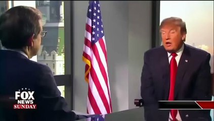 Donald Trump imite Hillary Clinton