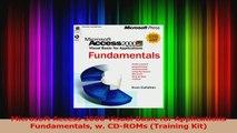 Microsoft Access 2000 Visual Basic for Applications Fundamentals w CDROMs Training Kit Read Online
