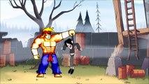 Gravity Falls - Dipper vs Rosko van Knokkels