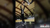 Romanian Teen Basketball Player is 7 Foot 6 Inches Tall and Only 184 Pounds