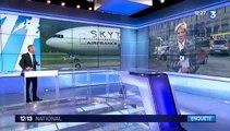 Bombe factice sur un vol Air France : deux suspects interpellés