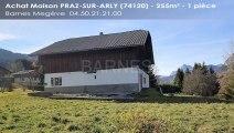 A vendre - Maison/villa - PRAZ-SUR-ARLY (74120) - 1 pièce - 255m²