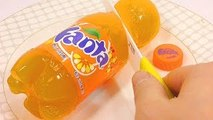 How To Make Fanta Orange Drinking Water Pudding Jelly Cooking DIY 환타 오렌지맛 푸�