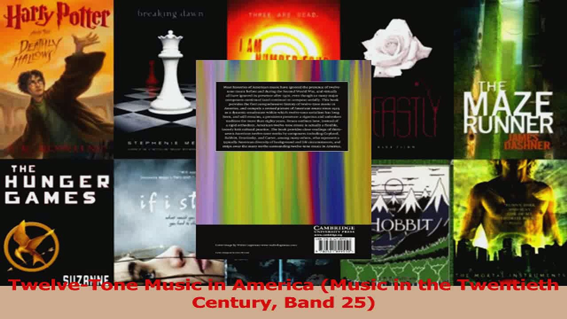 PDF Download  TwelveTone Music in America Music in the Twentieth Century Band 25 Download Online